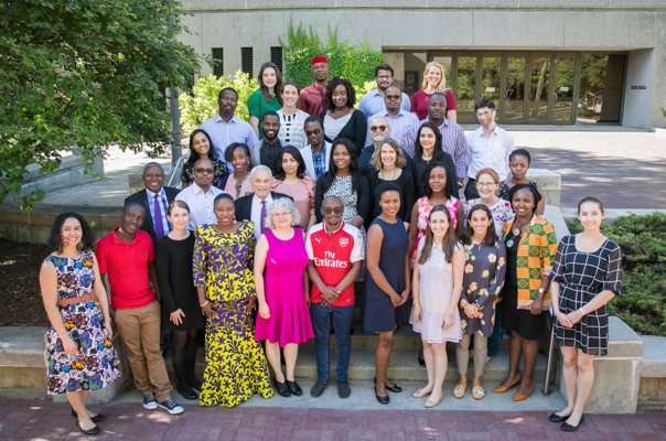 2018 Makwanyane Fellows and Trainers in Cornell Law School USA